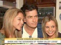 Meet Charlie Sheen's Live-In 'Goddesses'