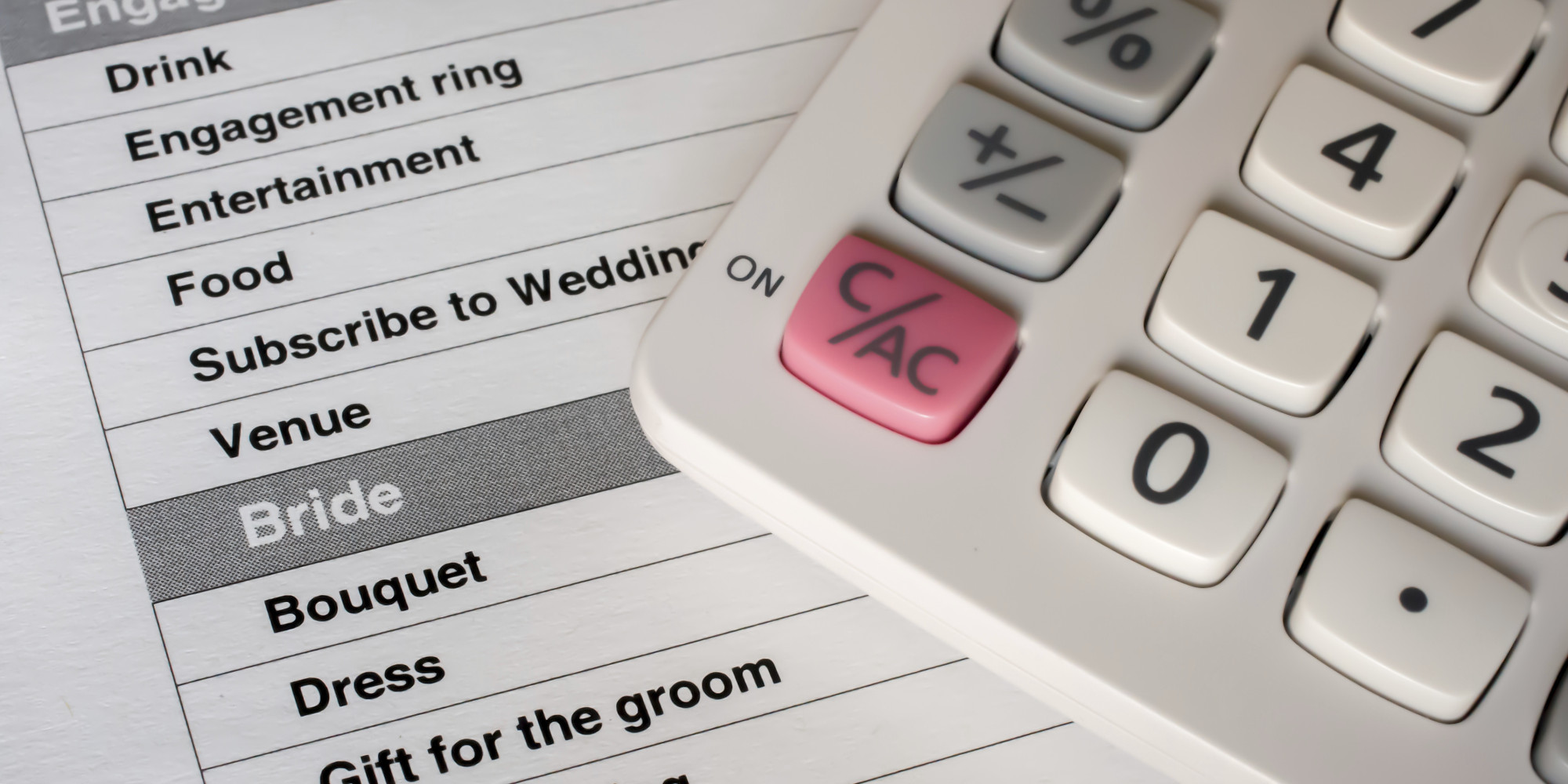 10 Hidden Wedding Costs You Should Budget For