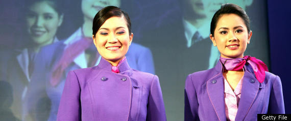 THAI AIRWAYS FLIGHT ATTENDANTS
