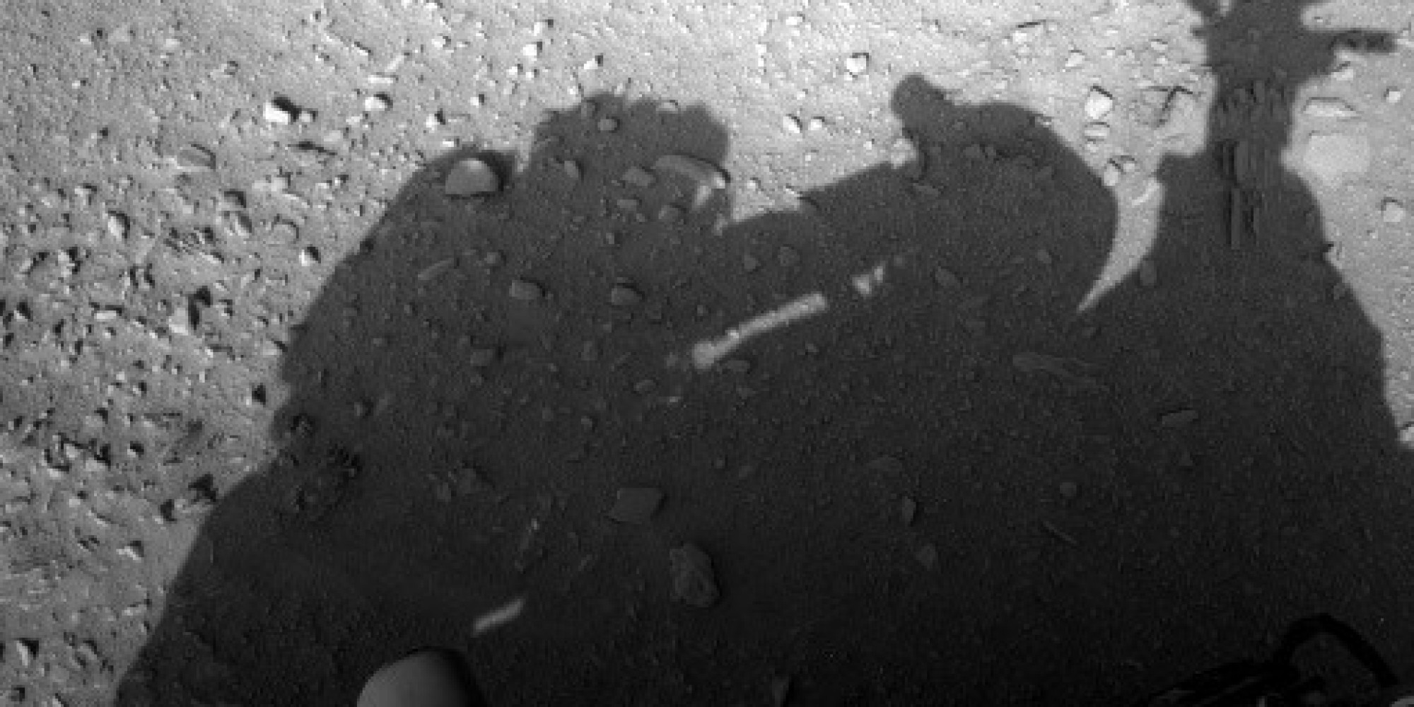 'Human' Shadow On Mars Caught Messing With NASA's ...