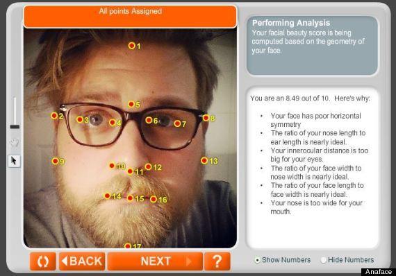 anaface facial analysis