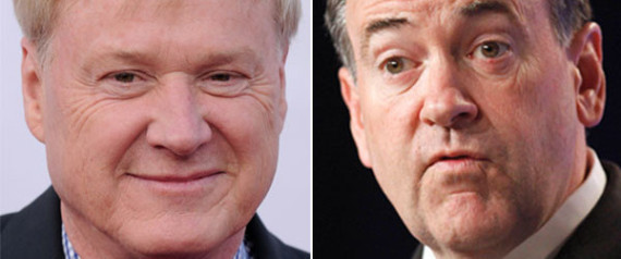MIKE HUCKABEE CHRIS MATTHEWS SHEEN