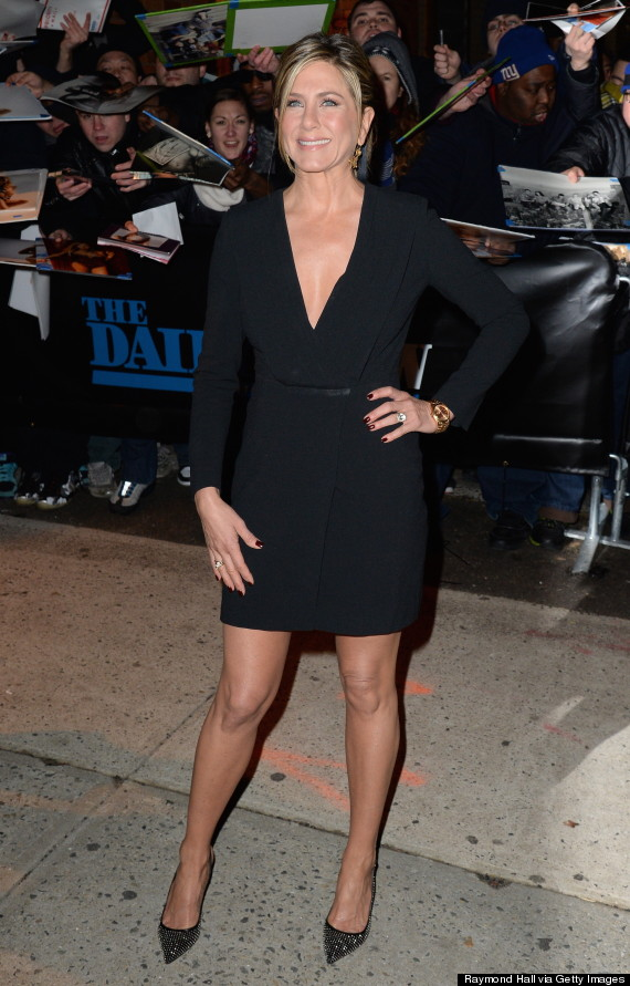 Jennifer Aniston Keeps It Simple In A Lbd For The Daily