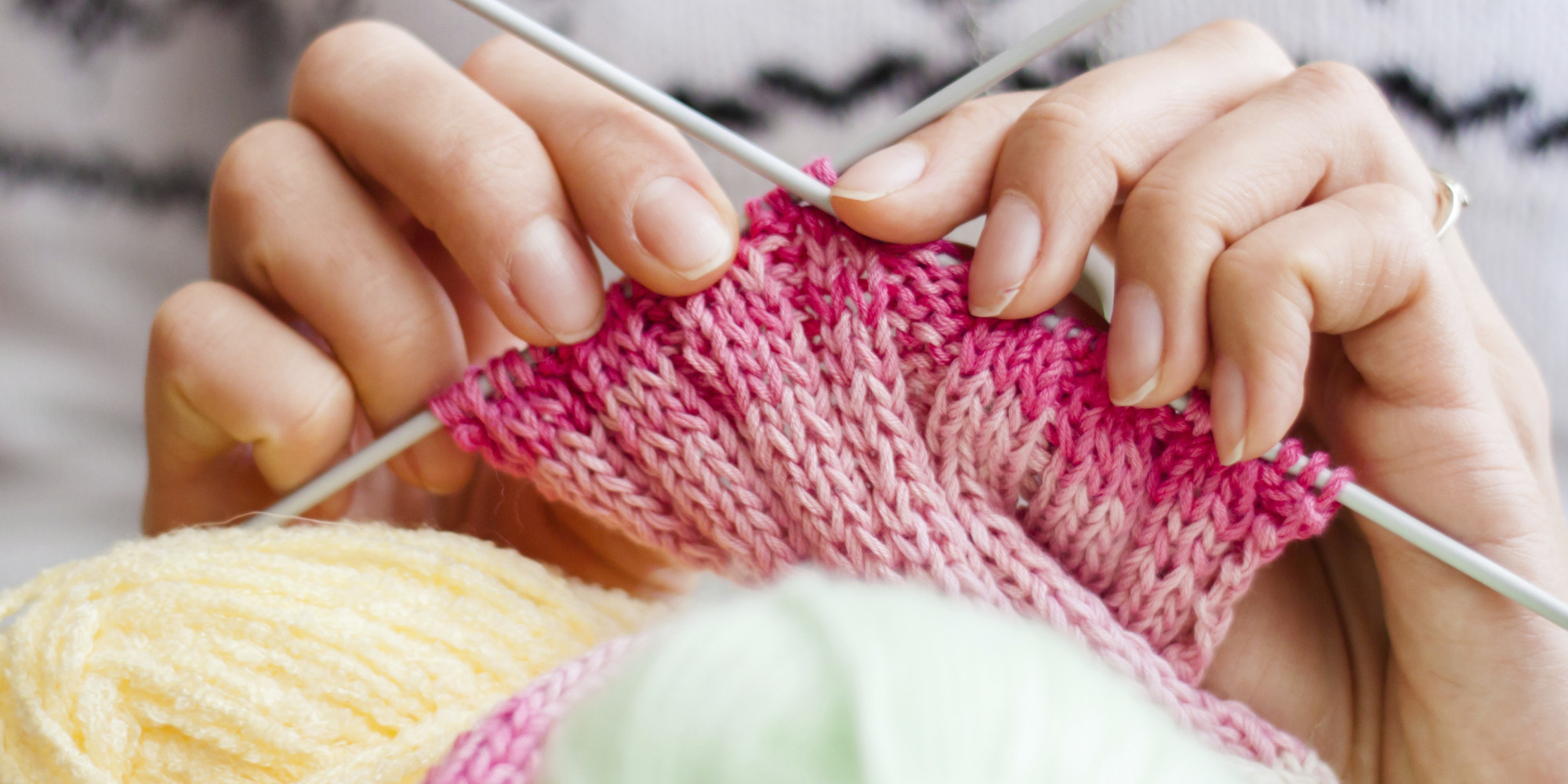 Senior Knitting, Shark Tank And Social Ties | HuffPost