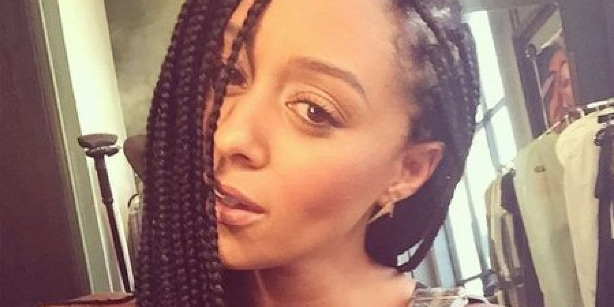 Incredible Tia Mowry Dishes On Her Sensational Style And How Green Tea Ice Short Hairstyles Gunalazisus