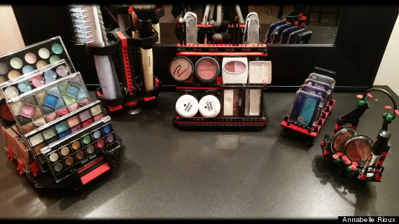 lego makeup displays are here to address your organizing