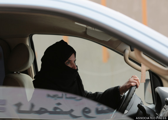 saudi woman drive