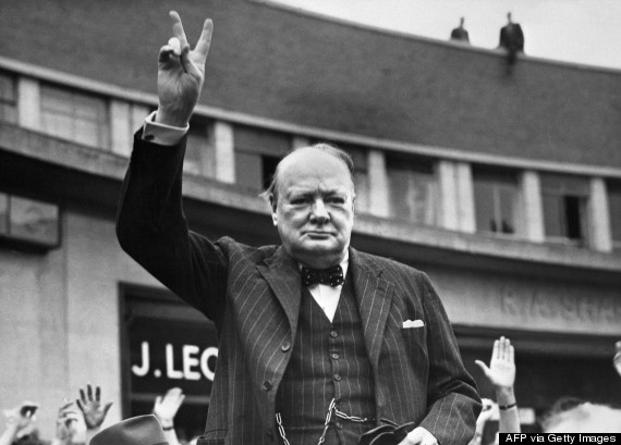 winston churchill undated