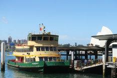 Australian ferry   Pic: AP