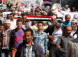 Record Crowds Protest Against Houthi Rebels In Yemen