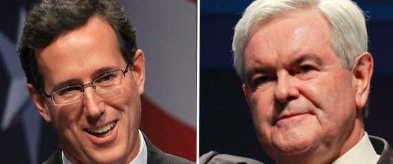 Rick Santorum Newt Gingrich Fox News