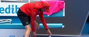 RAMASSEUR BALLES TENNIS AUSTRALIE