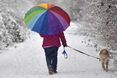 Spaziergang im Schnee | Bild: PA