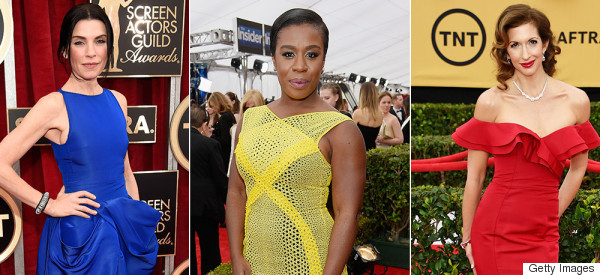 All The Beautiful Dresses On The 2015 SAG Awards Red Carpet