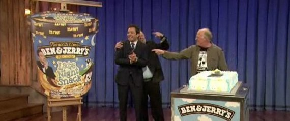 BEN AND JERRYS JIMMY FALLON LATE NIGHT SNACK ICE C