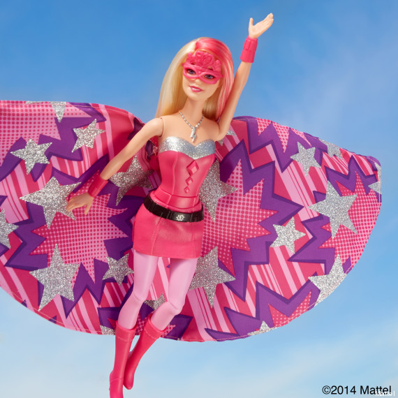 barbie super heros