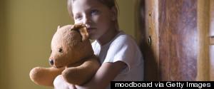 GIRL CHILDREN SAD