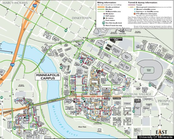 university of minnesota map