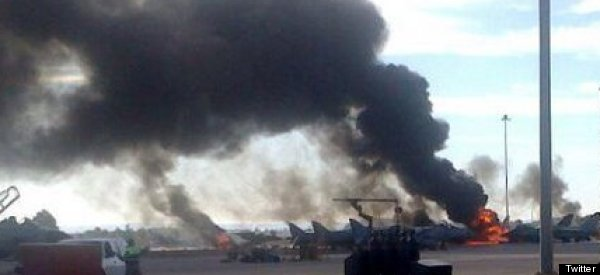 10 Dead As Greek Jet Crashes Into Spanish Base