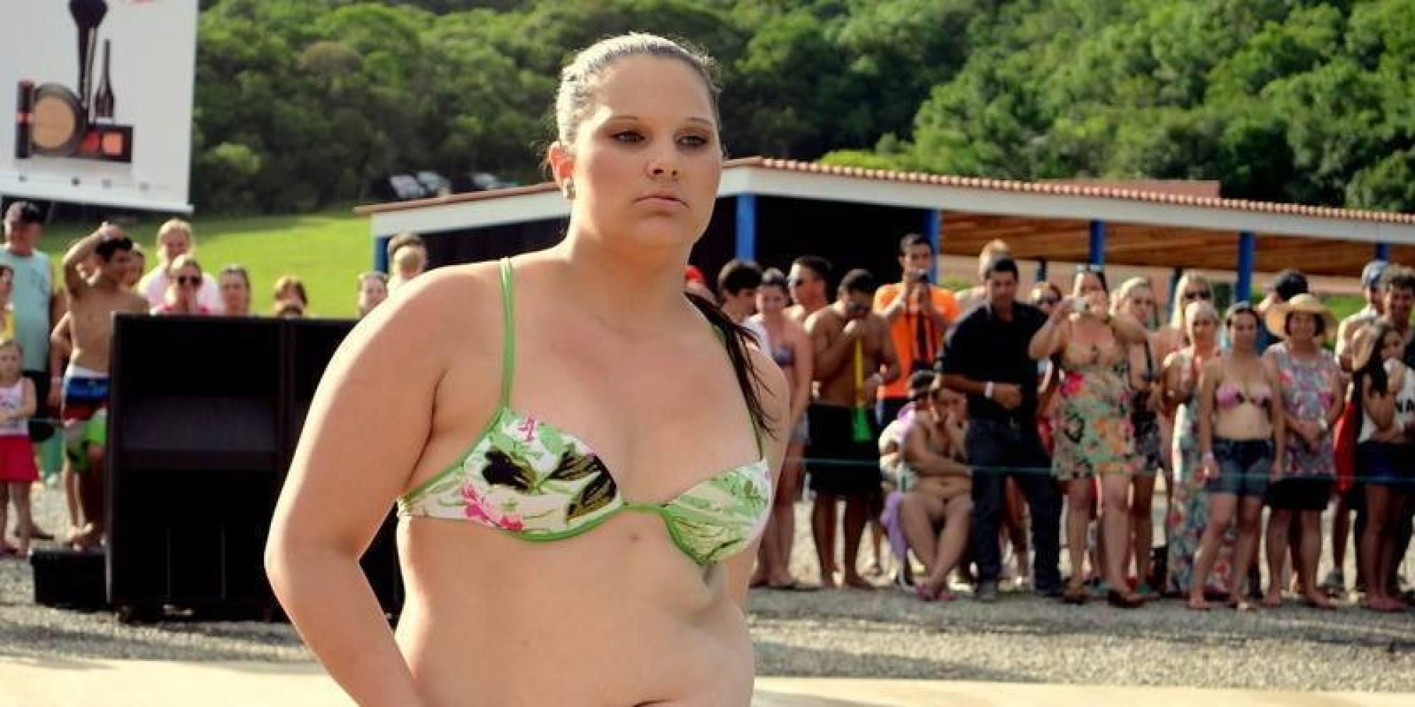Adolescente 'fora do padrão' entra em concurso de beleza e ARRASA! - Brasil Post