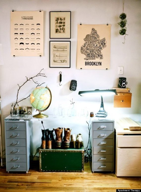 10 Poster Decorating Ideas That Won't Remind You Of A Dorm Room | HuffPost