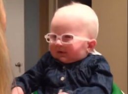 You Can't Even Handle The Moment This Baby Sees Her Mom For The First Time