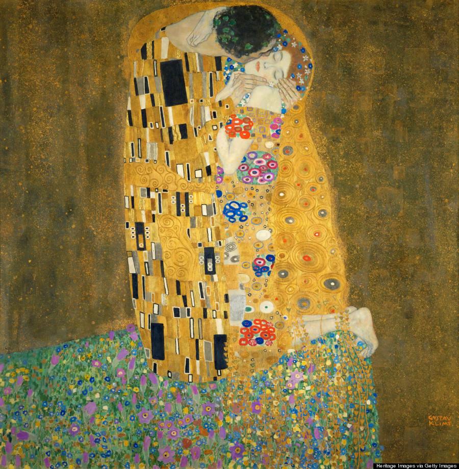 Ar art color quizlet - The Kiss Gustav Klimt
