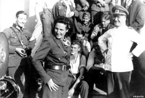leni riefenstahl sul fronte polacco