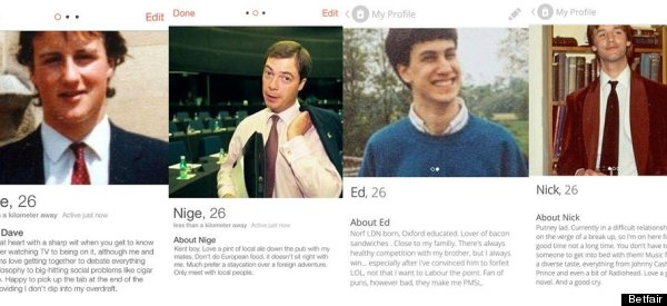 If The Election Was Conducted On Tinder 'Dave' Would Be On To A Winner