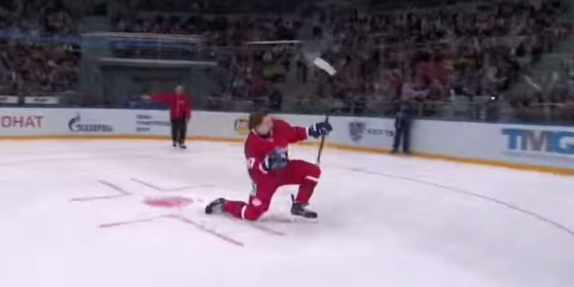 Russian Player Nikita Gusev Has Some Seriously Epic Ice ...