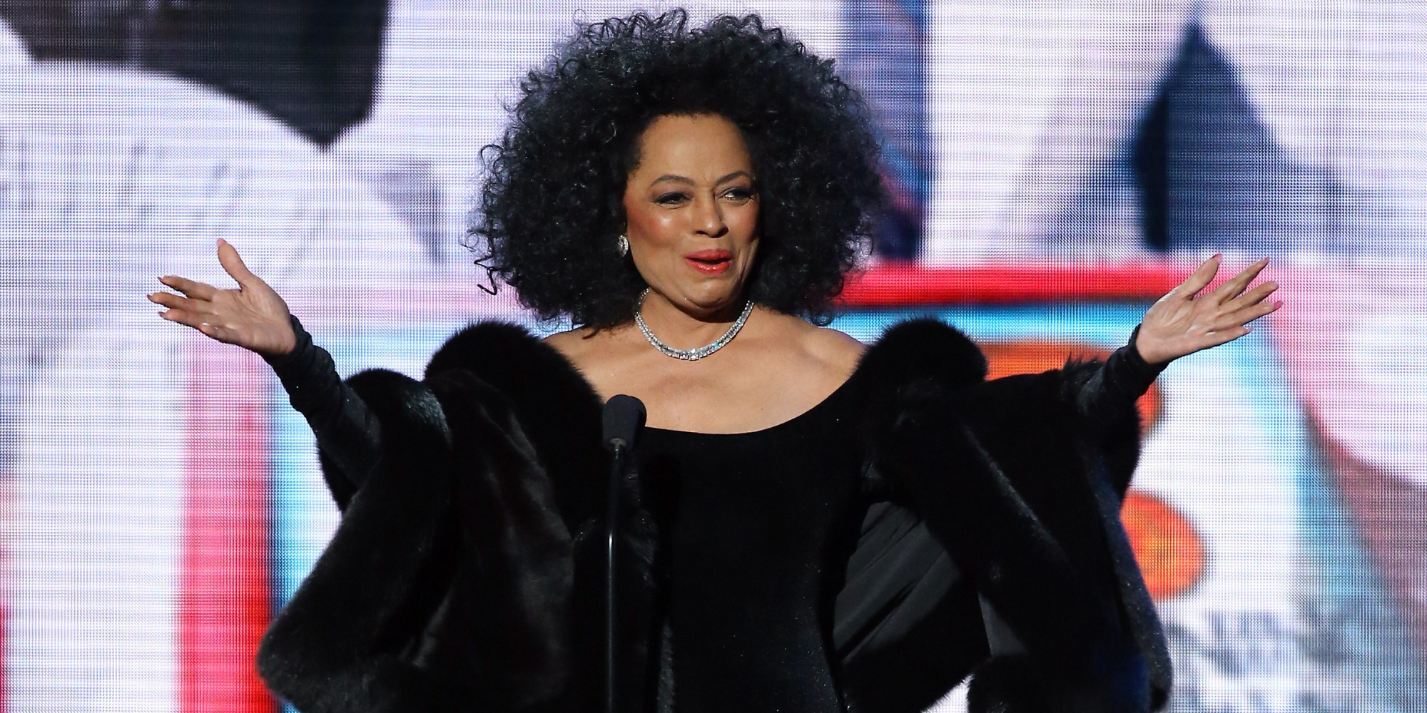 Summer Hairstyles for African American Women #3: The Natural Medium Hairstyle - Diana Ross
