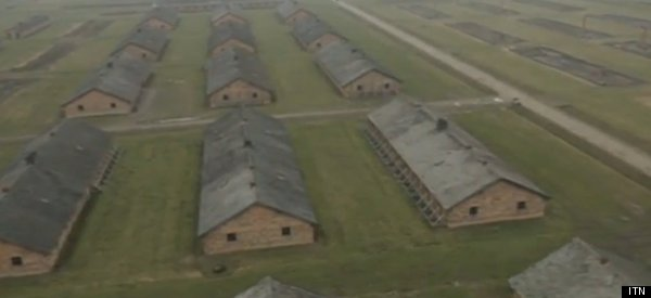Drone Footage Shows The Sheer Size Of Auschwitz