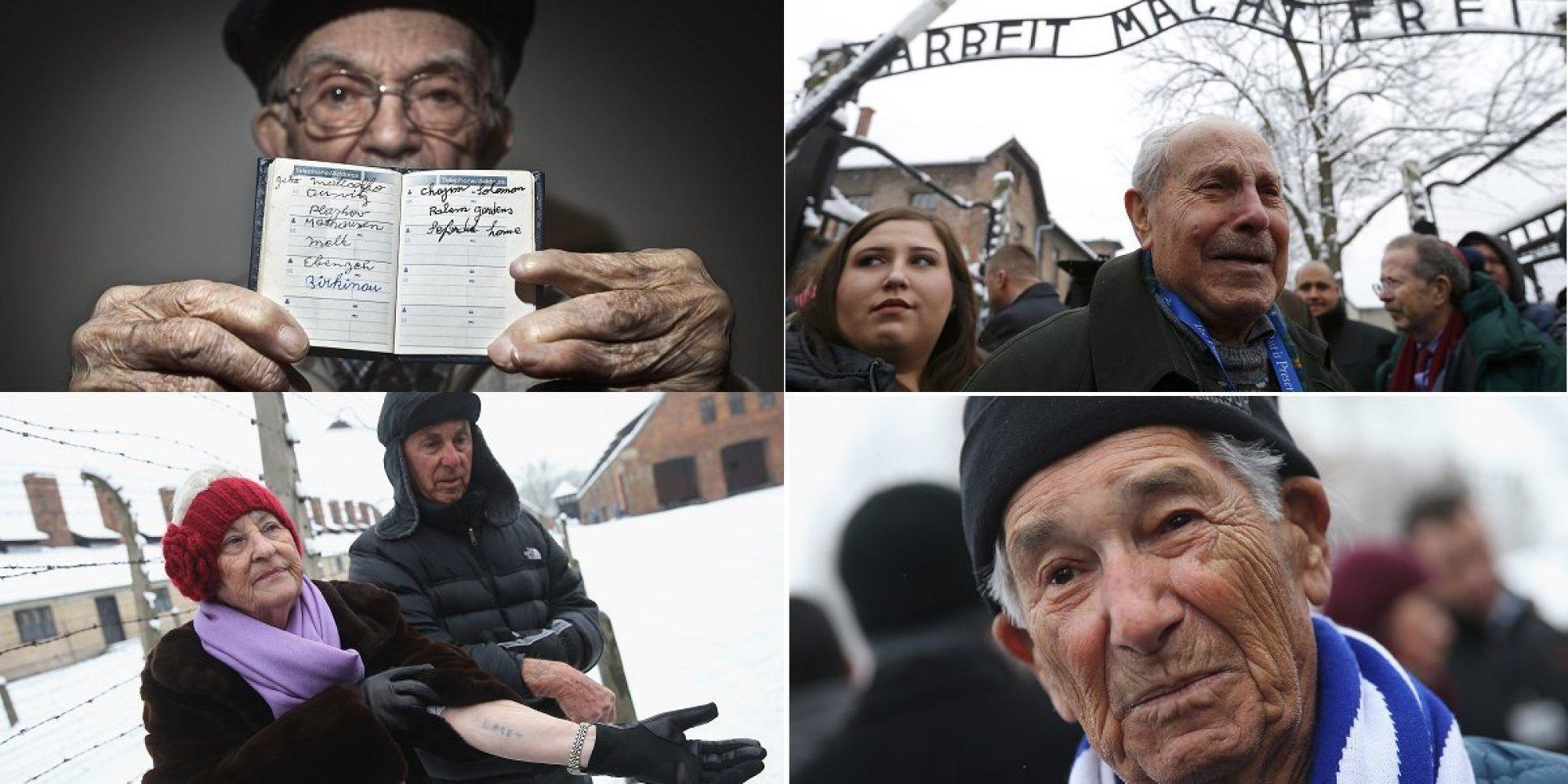 Após 70 anos da liberação de Auschwitz, 300 sobreviventes do ... - Brasil Post