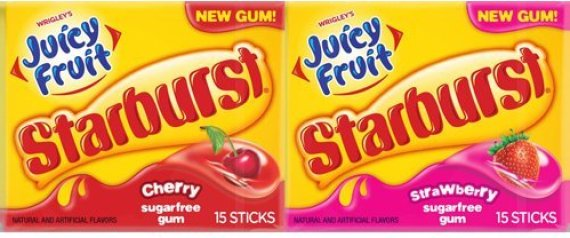 Juicy Fruit Flavor Juicy Fruit Gum Now Comes in
