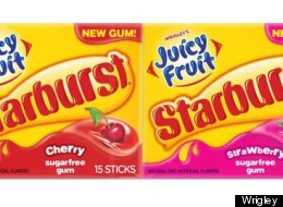 Juicy Fruit Gets A Makeover With A Fruity Twist