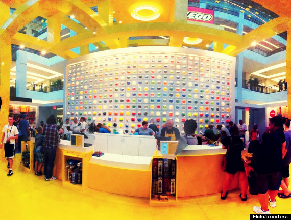 mall of america lego