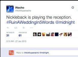 How To Ruin A Wedding In 5 Words