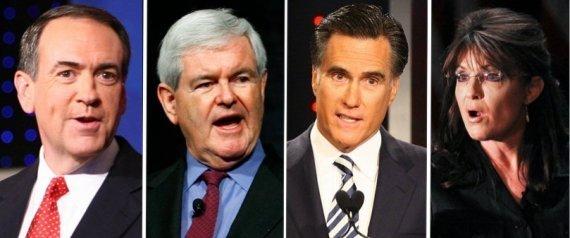 ELECTIONS 2012 GOP PRIMAY FIELD