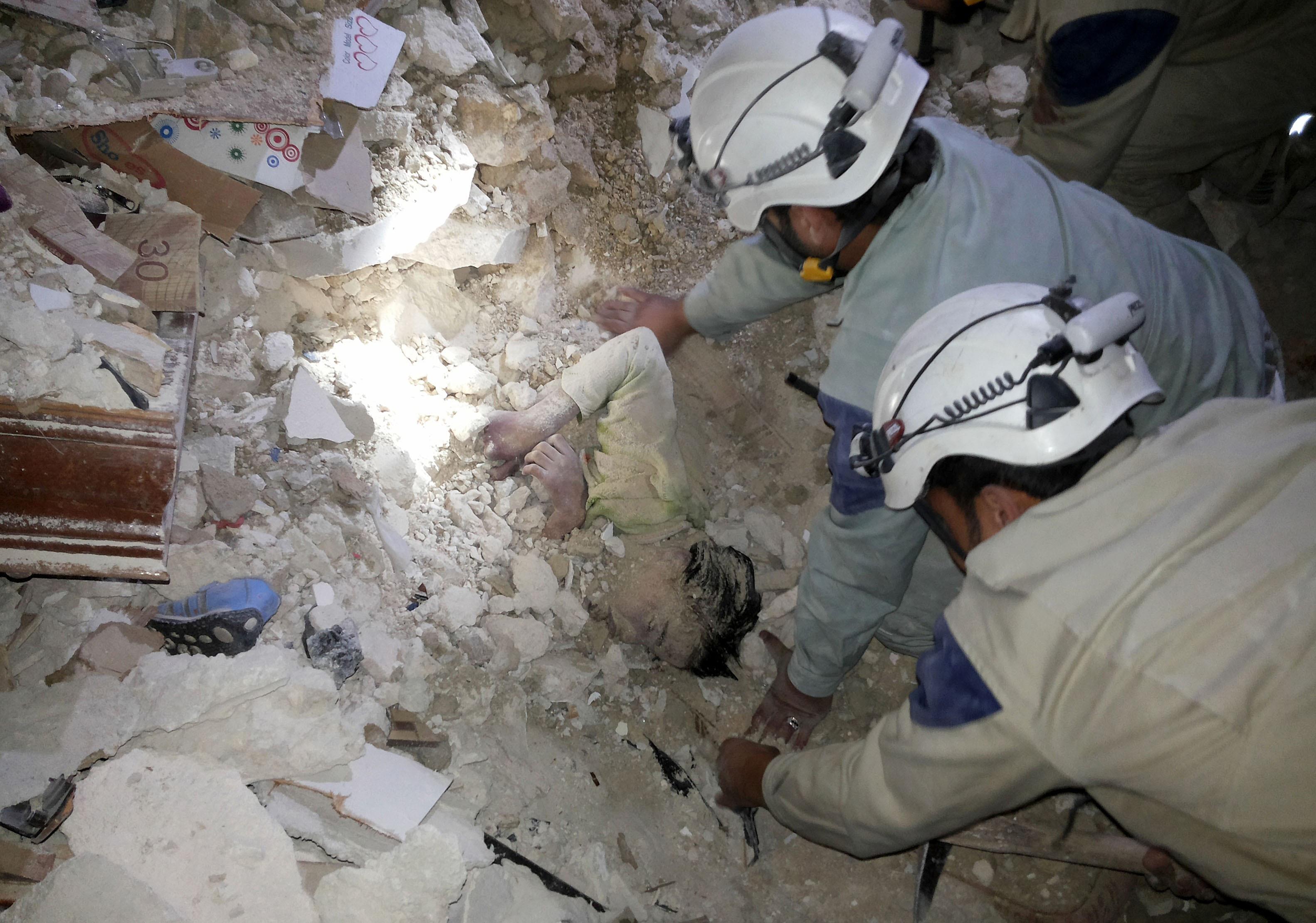 barrel bomb syria