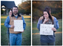 Dad's Sweet Reaction To Baby News Captured In Sneaky Photo Shoot