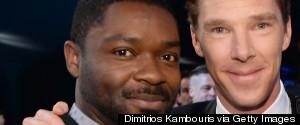 DAVID OYELOWO BENEDICT CUMBERBATCH