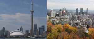 TORONTO MONTREAL BEST CITIES