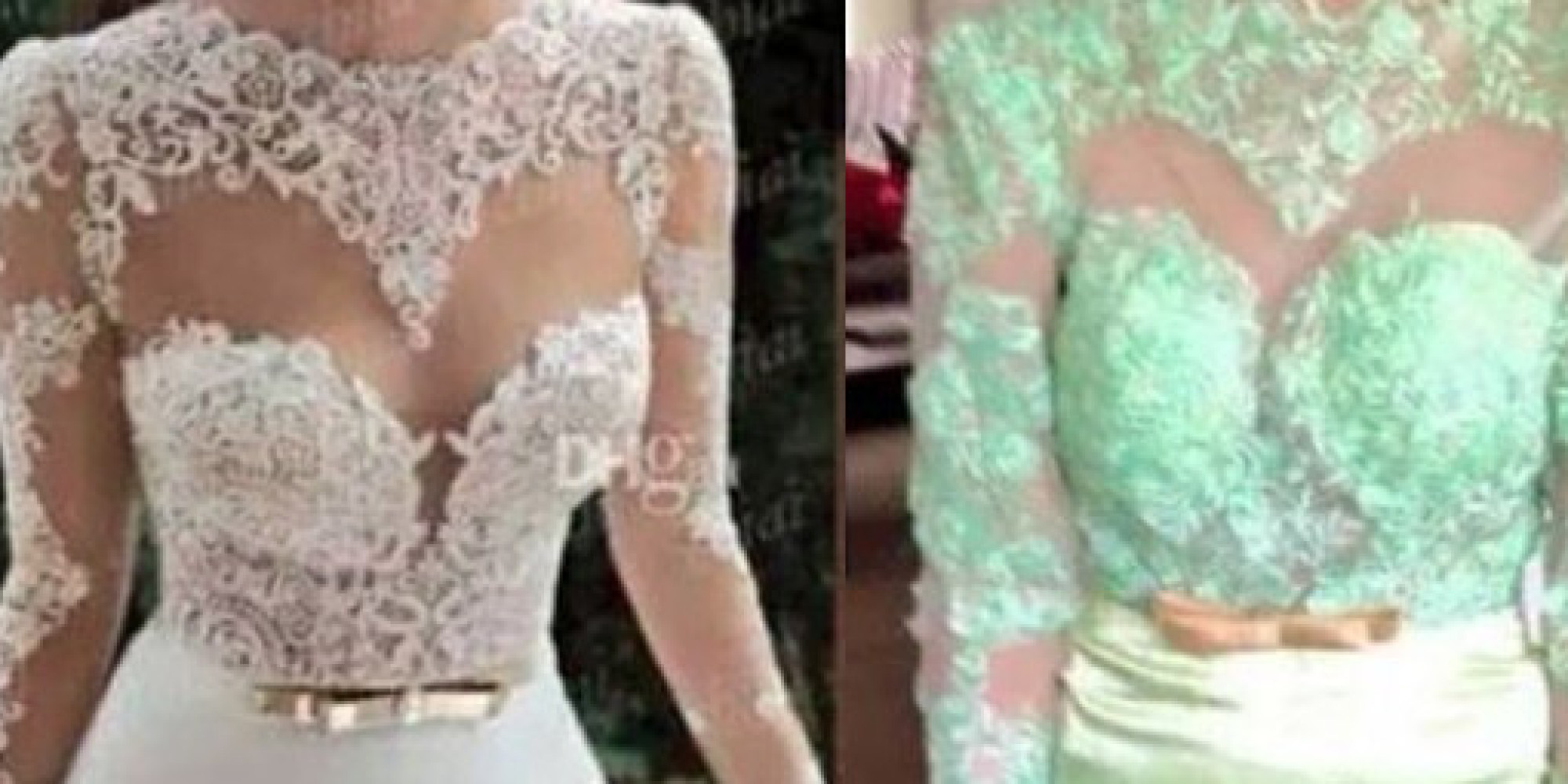 15 Wedding Dresses Ordered Online That Look Nothing Like The Real ...