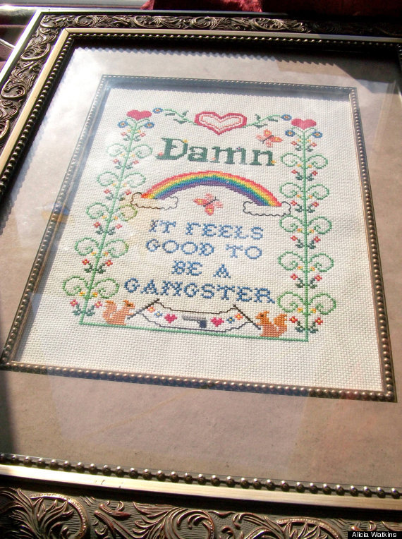 19 hilariously nsfw cross stitches you won u0026 39 t find in