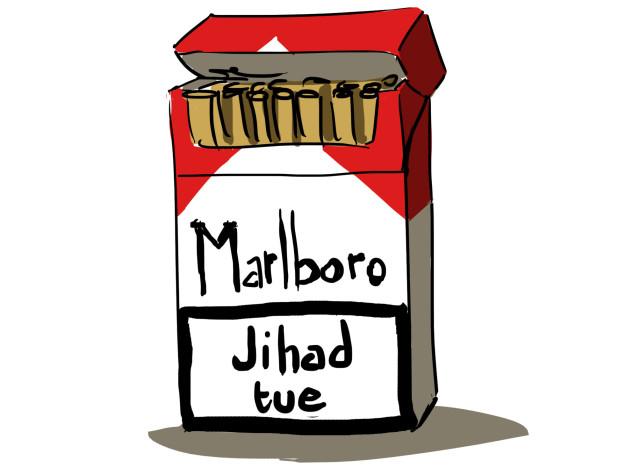 dessin campagne jihad