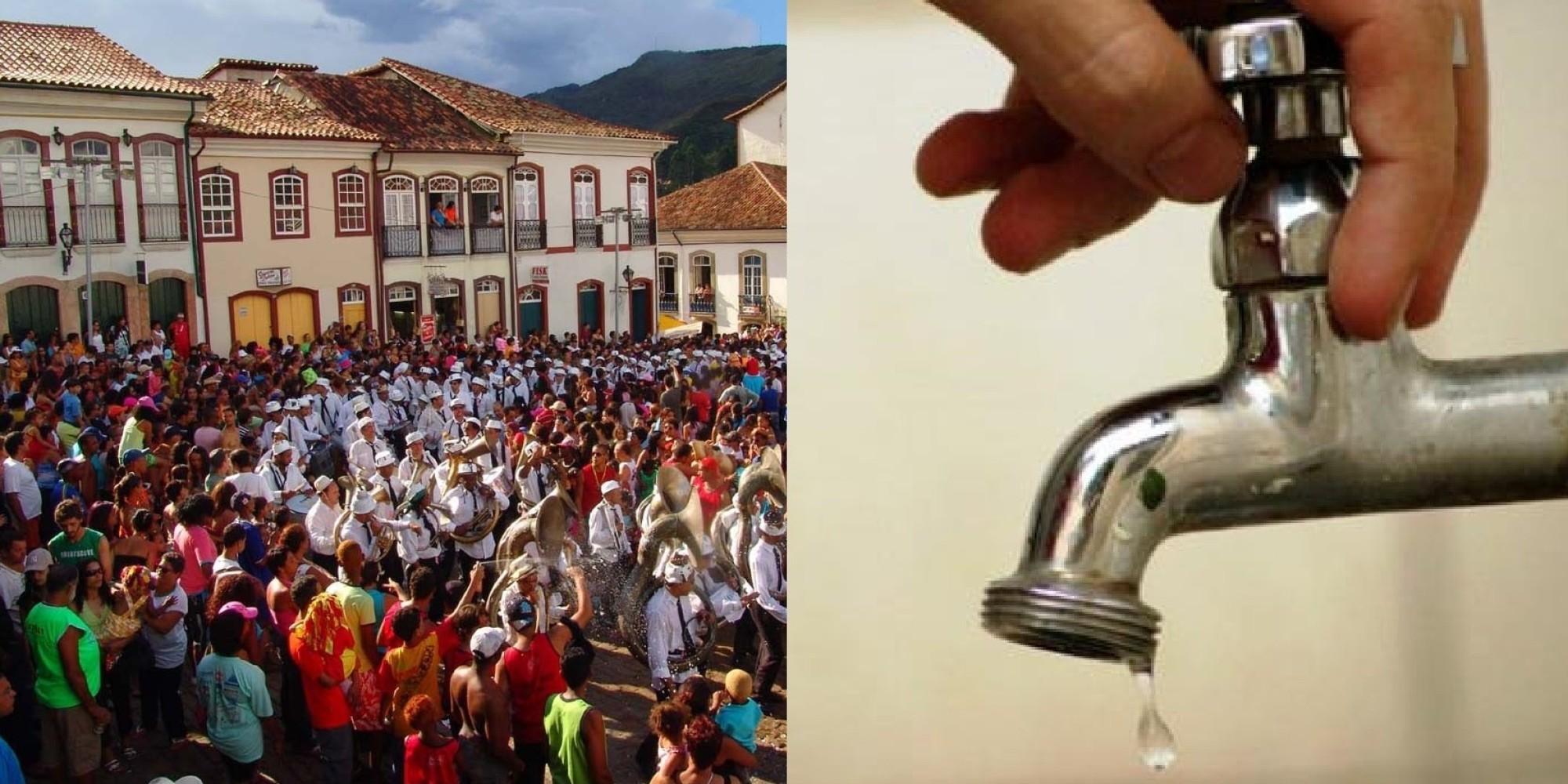 Falta de água em Minas Gerais força 15 cidades a cancelarem o ... - Brasil Post