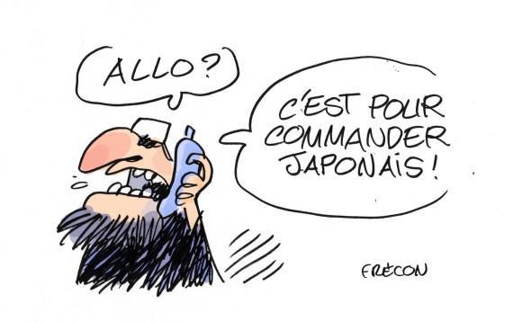dessin otage japonais