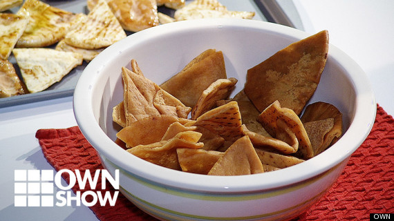 own ownshow homemade pita chips alan jackson