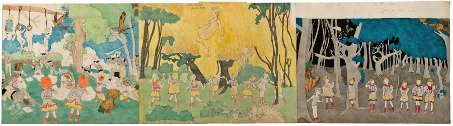 Inside The Dark And Twisted Alternate Universe Of Outsider Artist Henry Darger  Huffpost-4618