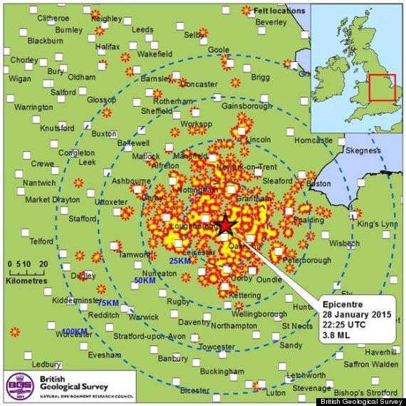 oakham earthquake